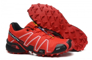 Salomon-Speedcross-3-CS-Trail-Running-Shoes-Red-Black