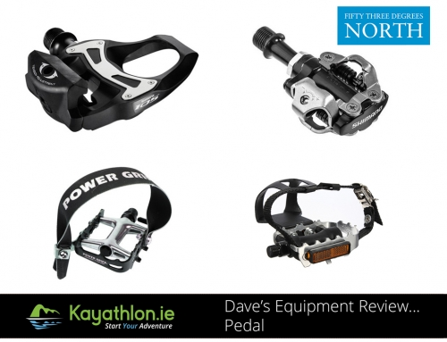 Dave's Equipment Review…Pedals