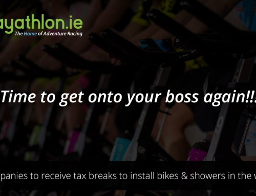 Irish companies to get tax breaks to install bikes, gym equipment and showers.