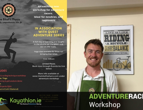 Adventure Racing Workshop – Bikefit Physio