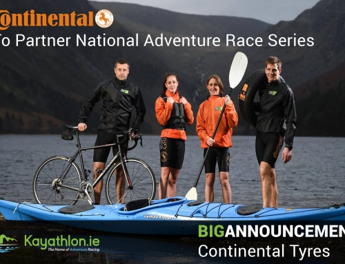 Continental Tyres to Become Title Partner of the Irish National Adventure Race Series