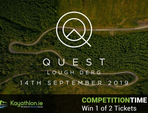 Competition Time: Win 1 of 2 Entries to the Quest Lough Derg Adventure Race