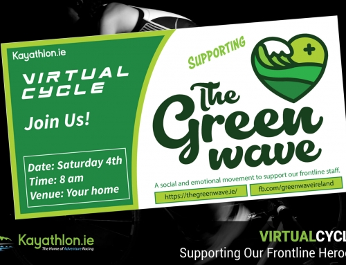 Virtual Cycle in Support of TheGreenWave.ie